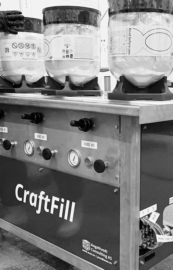CraftFill - Brewery Ninjas